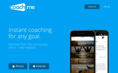 Coach.me #appstowatch #mobile #apps #trends