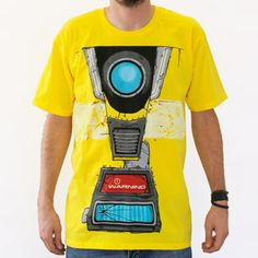 #Borderlands 2: Clap Trap Costume T-shirt from Gearbox ($20)