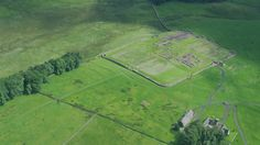 Aerial archaeology uncovers new evidence that could change what experts believe about Iron Age and Roman life on Hadrian's Wall in Northumberland.