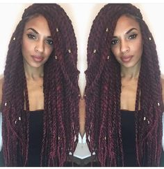 Twists More Crochet Braids Hairstyles, Weave Hairstyles, Cool Hairstyles, Marley Twist Hairstyles, Hair Colorful, Virtual Hairstyles, Curly Hair Styles, Natural Hair Styles, Braids With Extensions