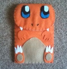 Charmander 3DS Felt Case. $26.00, via Etsy.