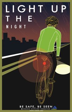 """Light Up The Night"" from Virginia Bicycling Federation [www.vabike.org]"