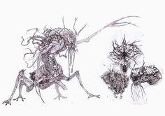Creatures Design  (Thumnails/Concepts) by NoN EJ, via Behance  https://www.facebook.com/pages/NONEJ/304675466221623