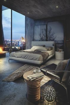 Modern Bedroom Ideas - Searching for the very best bedroom design ideas? Use these beautiful modern bedroom ideas as ideas for your very own incredible decorating plan . Modern Bedroom Design, Master Bedroom Design, Contemporary Bedroom, Modern Interior Design, Interior Design Living Room, Bedroom Designs, Modern Elegant Bedroom, Master Suite, Luxury Bedrooms