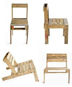 Chairs made < from #pallets