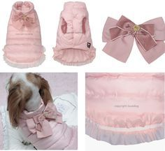 Designer Couture Puppy Clothes- Small clothes for Little dogs