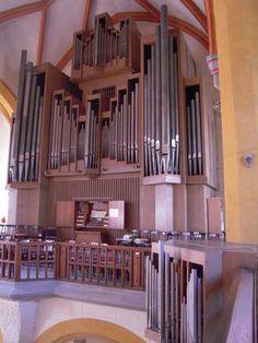 Het A. Schuke-orgel in de Stadtkirche Sankt Michael