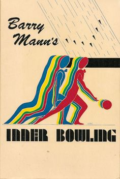 VINTAGE BOOK Barry Mann's Inner Bowling #bowling