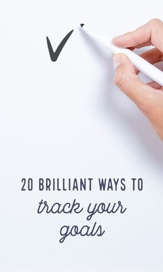 On the Creative Market Blog - 20 Brilliant Ways to Track Your Goals