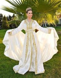 Specifications Best quality of fabric with hand work embroidery. Price are reasonable contact us then we will send you Moroccan Caftan, Moroccan Style, Caftan Gallery, Arab Wedding, Dress Rental, Hand Work Embroidery, She Was Beautiful, Traditional Outfits, I Dress