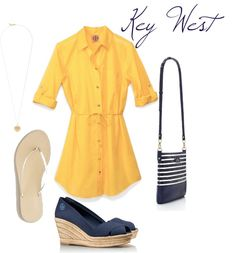 """""""Key West Day to Night"""" by kayceebrown on Polyvore"""