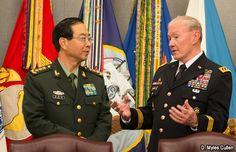 Militares chinos viajan de Washington a La Habana