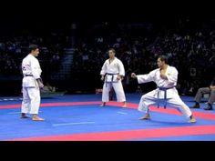 Karate Week #11 - 7:26 min video - 2010 WKF World Championships Male Team Kata Final. Japan vs. Italy. Part 2: Italy. Winner Italy!