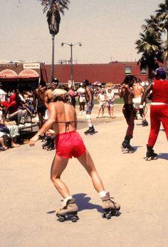 skating venice beach 1983.