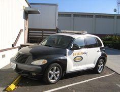 LA County Sheriff PT Cruiser/ Halarious! We love our pt's.