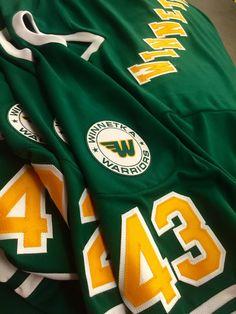 Custom Winnetka Warriors Hockey Jersey. Made in the USA at K1 Sportswear.