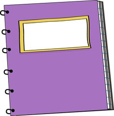Clip Art Notebook Clip Art spiral notebook scrapbook school free printables pinterest purple clip art image a for teachers classroom projects blogs prin