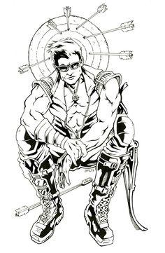 Hawkeye redesign - Bradley Hudson