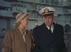 Grace Kelly and William Holden. 'The Bridges At Toko-Ri'. Saw it on Aug.9th.1955.