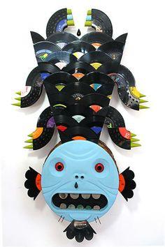 Wade Mickley Rock Lobster, Lowbrow Art, Pop Surrealism, Graphic Designers, Kitsch, Painters, Acre, Pop Art, Stripes