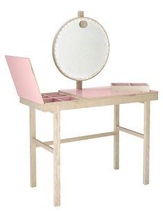 Phine Dressing table - Luminous mirror - W 100 x H 75 cm