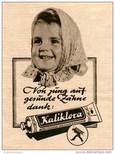 Original-Werbung/Inserat/ Anzeige 1949 - KALIKLORA ZAHNPASTA - ca. 100 X  135 mm
