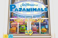 Pajanimals: Light In The Sky ($4.99) In this first app, based on the beloved television series from The Jim Henson Company and Sprout, Squacky becomes afraid after hiding in a dark closet during a game of hide and seek. His imagination gets the better of him and now it's up to Apollo, Sweetpea Sue, CowBella and you, of course, to put Squacky's mind at ease. Interact with your favorite characters in the first fully 3D, interactive version of the Pajanimals show on your iPhone or iPad!