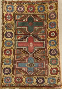 Turkish rug, 154 cm x 98 cm, 19th century, Pergamon Museum, Islamic Art Museum, Berlin