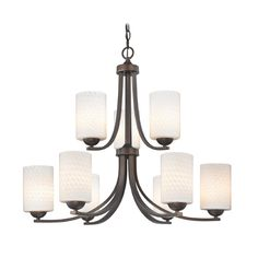 "#15, 16  $536.05 for two, 422613 9 light branch $170.825, 422029 Glass $194.40 (or 430140) Design Classic Lighting 29"" W x 25"" H"
