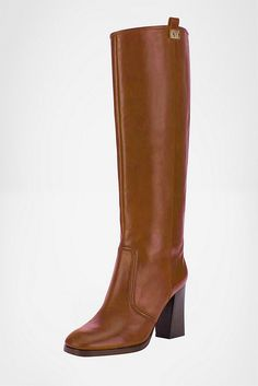 Knee high boots.