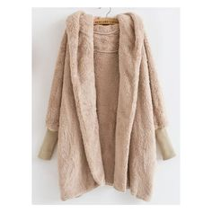 Hooded Long Sleeve Loose Cardigan ($35) ❤ liked on Polyvore featuring tops, cardigans, long sleeve tops, long sleeve cotton tops, long hooded cardigan, long loose tops and batwing tops