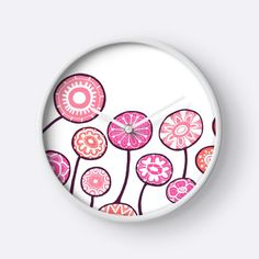 """Candy flowers"" Clocks by ptitsa-tsatsa 