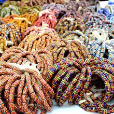 Bead Market in Koforidua, #Ghana
