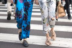Check Out the Flashy Street Style Accessories Taking Over Milan Fashion Week Day 2 Gucci Mules