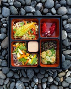 Golden Door: Where Top Fashion and Beauty Female Execs Go to Unplug Bento Box, Blueberry, Yummy Food, Meals, Bright Colors, Beauty, Tops, Drink, Create
