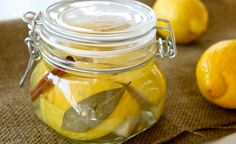 I love using preserved lemons in tagine cooking. Cooking Lessons: Kiss the cook: give the gift of preserved lemons Lemon Recipes, New Recipes, Healthy Recipes, Recipies, Probiotic Foods, Fermented Foods, Pesto, Preserved Lemons, Canning Recipes