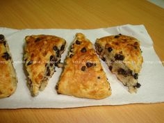 My Hobbie Lobbie: SRC - Chocolate Chip Banana Bread Scones