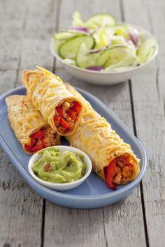 Recept voor gehakt enchiladas