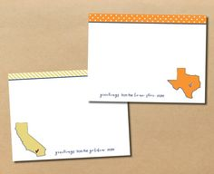 greetings from the dairy state... notecards by riverandbridge on Etsy, $15.00