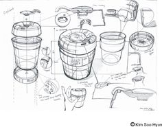 drawon sketch lesson keep cup drawon Keep cup sketch lessonYou can find Product sketch and more on our website Drawing Skills, Drawing Sketches, Drawings, Id Design, Sketch Design, Design Concepts, Book Design, Sketch Inspiration, Design Inspiration