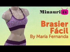 DIY - Brasier - Easy - Fácil by María Fernanda ( How to make ) Lingerie Patterns, Sewing Lingerie, Learn To Sew, How To Make, Bra Pattern, Make It Simple, Sewing Patterns, Clothes, Bikinis Retro