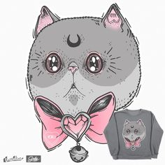 Meow on Threadless https://www.threadless.com/designs/meow-74