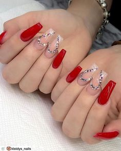 img) Want to see new nail art? These nail designs are really great Picture 69 101 Want to see new nail art? These nail designs are really great Picture 69 Nails design; Valentine's Day Nail Designs, Cute Acrylic Nail Designs, Nail Designs Spring, Nails Design, Heart Nail Designs, Coffin Nails Long, Long Nails, Long French Nails, Long Nail Art