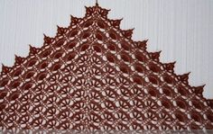Crochet shawl: pattern and photo tutorial
