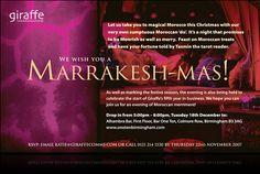 Marrakesh-mas invite