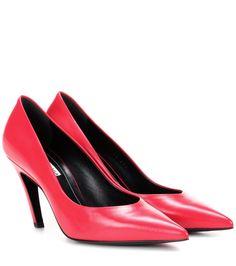 Rote Pumps aus Leder By Balenciaga