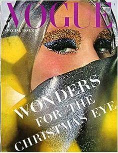 Vintage Vogue magazine covers - mylusciouslife.com - Vintage Vogue December 1964 - Christmas Issue.jpg