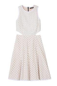 Tibi Sonoron Eyelet Dress, $425; tibi.com