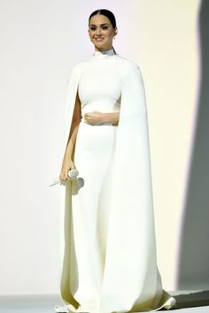All the best stage costumes from the Grammys: Katy Perry in Valentino