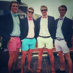 CHUBBIES  #preppy .... any boy weari g this is suddenly 1000000x more attractive